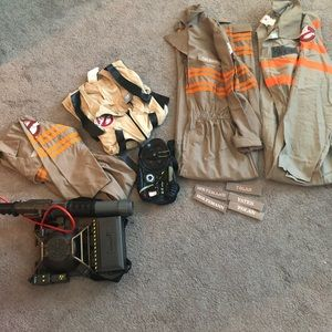 Other - Family Ghostbusters Halloween costume set